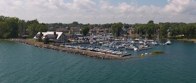Loyalist Cove Marina - Frontal View