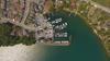 Loyslist Cove Marina - Aerial