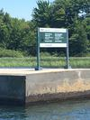 Entering the Trent Severn waterway / Murray Canal
